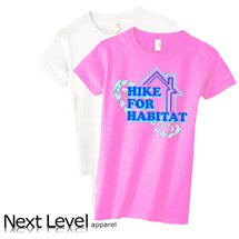 Next Level Ladies CVC Crew T-Shirts