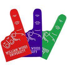 #1 Small Foam Fingers - Economy