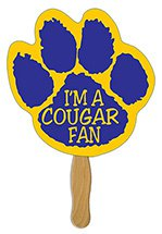 Paw Print Hand Fans