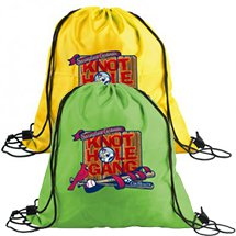 Full Color Polyester Drawstring Bags