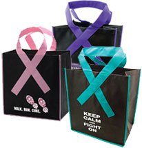 Ribbon Grocery Bags
