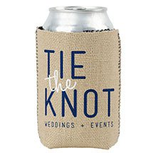 Burlap & Neoprene Can Holders
