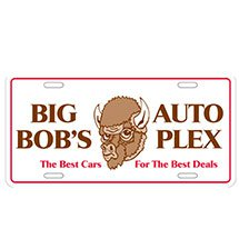 6-Ply Card Stock Car License Plates