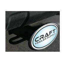 Full Color Dome Oval Hitch Covers