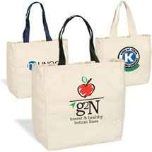 11 x 14 Cotton Canvas Give-Away Tote Bags