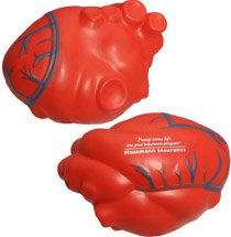 Anatomical Heart with Veins Stress Balls