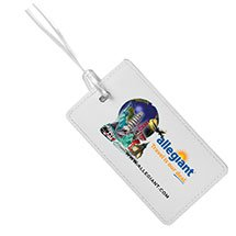 Leatherette Luggage Tag with Full Color Imprint