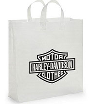 16 x 18 x 6 Economy Frosted Plastic Bag, Ink Imprint