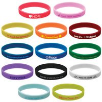Pad Printed Wristbands
