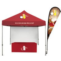 10' Event Tent Total Show Package