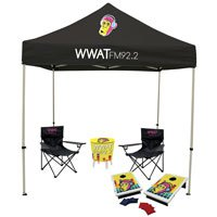 8' Event Tent Jr. Tailgater Total Show Package