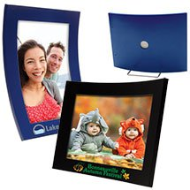 4 x 6 Colorful Curved Wood Picture Frames