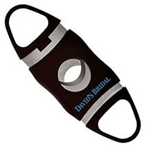 Oval Cigar Cutters with Double Cut Blade