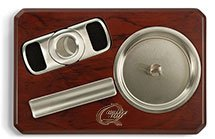 Cigarro Ashtray Sets with Cigar Cutter