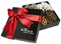 4 Delights Gift Box - Assorted Mini Pretzels