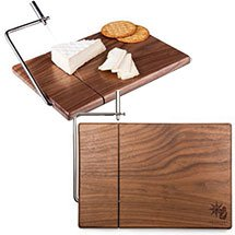 Black Walnut Cutting Board with Cheese Slicer