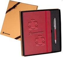 Tuscany Journal and Pen Gift Sets - 8 x 8.625