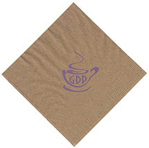 2-Ply Recycled Kraft Cocktail Napkins