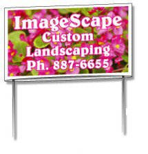 "26"" x 16"" Double-Sided Glued Yard Signs"