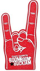 Rock Concert Foam Hands