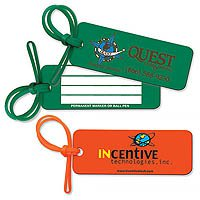 Rectangle Sof-Touch Vinyl Luggage Tags