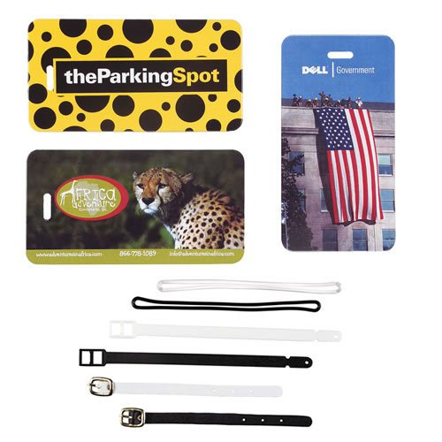 Full Color Spectra Luggage Tags