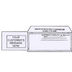 "3-5/8"" x 8-5/8"" Bangtail / Bank-By-Mail Envelopes"