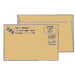 Brown Kraft Booklet Envelopes