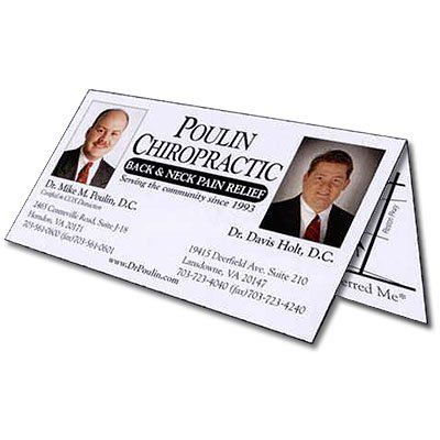 Double Business Cards, 4/1