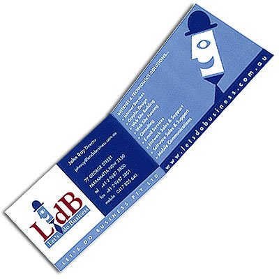 Horizontal Double Business Card - 4/4