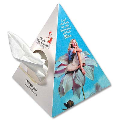 Pyramid Tissue Dispenser