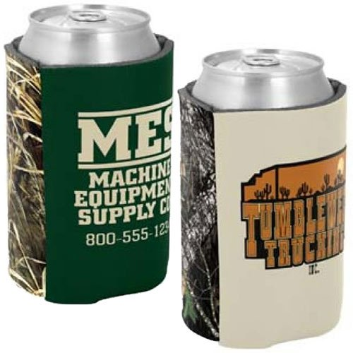 Licensed Camo Two-Tone Scuba Foam Can Holders