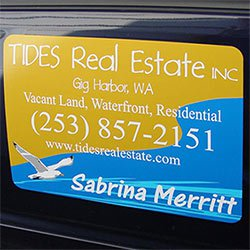 "18"" x 24"" Vehicle Magnets w/ Rounded Corners"