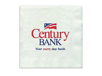 Beverage Napkins, White, High Quantity, 2-Ply