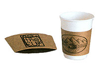 Brown Kraft Coffee Sleeves