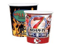 Full Color Process Paper Cups, Hot or Cold 12 oz.