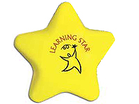 Star Shaped Stress Balls