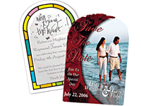 2-1/8 x 3-1/4 Save the Date Magnets