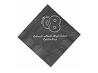 3-Ply Black Velvet Luncheon Napkins