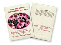 Coneflower Seed Packets