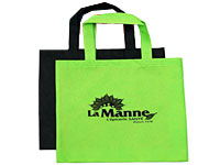 "15"" x 16"" Non-Woven Budget Tote bags"