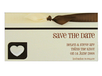 Rectangle Save the Date Magnets
