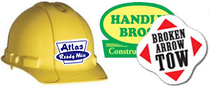 Hard Hat Stickers