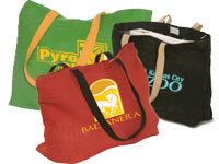 Natural Jute Fiber Reusable Shopping Bags