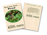 Gourmet Lettuce Seed Packets