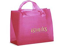 13 x 10 Frosted Soft Loop Shopping Bags