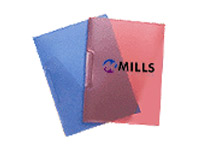 Opaque Frosted Plastic Presentation Folders