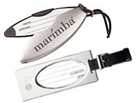 Metal Luggage Tags