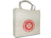 "14"" x 15"" Organic Cotton Eco Shopper Bags"