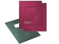 Embossed Two Piece Report Covers